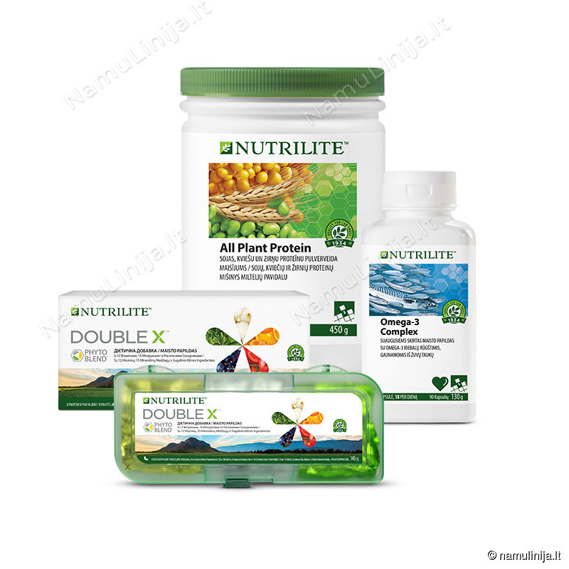 Foundational Trio rinkinys su NUTRILITE™ DOUBLE X™ (293033)